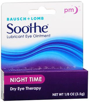 Bausch Lomb Soothe (Bausch & Lomb Soothe Lubricant Eye Ointment Night Time 3.50 g (Pack of 3))