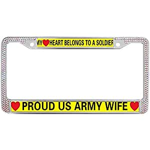 Amazon Com License Plate Cover For Standard Size Us Car
