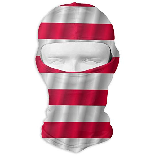 (LNUO-2 Wind-Resistant Balaclava, Flag of Poland Porch for Ski&Snowboard White)