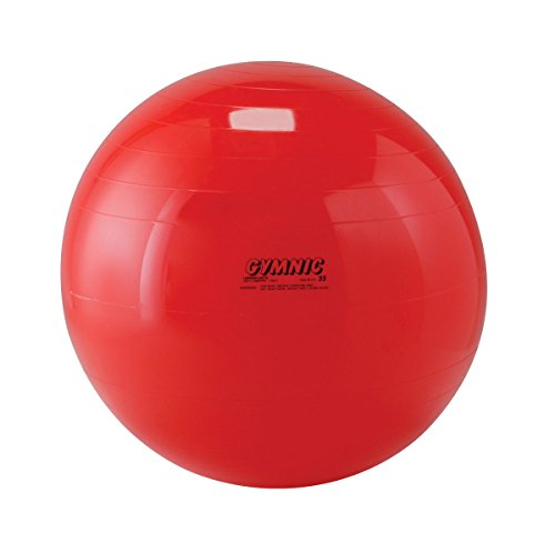 Gymnic Classic Therapy Ball, 22 in, Red