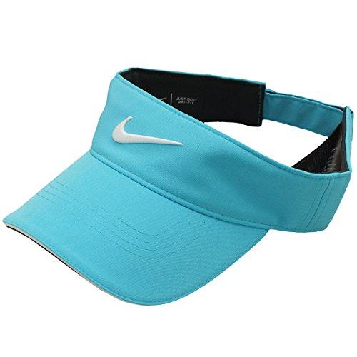 ナイキ NIKE 帽子 DRI-FIT テックツアーサンバイザー ブルーフューリー/アンスラサイト(ホワイト) ワンサイズ