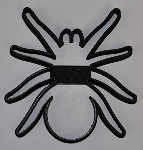 SPIDER EIGHT LEGS ARACHNID INSECT HALLOWEEN SCARY SPIDERMAN SPECIAL OCCASION COOKIE CUTTER BAKING TOOL 3D PRINTED MADE IN USA PR829 -