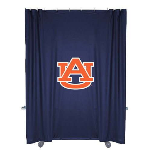 Tigers Ncaa Shower Curtain - NCAA Auburn Tigers Shower Curtain
