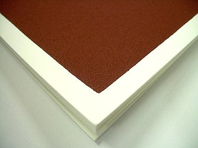 Richesons Premium Pastel Surface- Clay 140lb Paper Pack of Ten 18x24 Inch Sheets by JRC