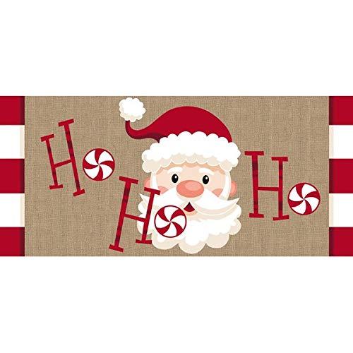The Holiday Aisle Santa Ho Ho Ho Sassafras Switch Doormat, Christmas Door Mats from The Holiday Aisle