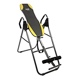 Inversion Table, Perfect For Small Spaces With Limited Storage, This Compact Table Has A Simple Folding Design Which Lets You Tuck It Away After Use