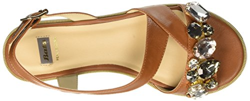WoMen Heels Bar 5613224 BATA T Marrone Brown dwAtpxxqI