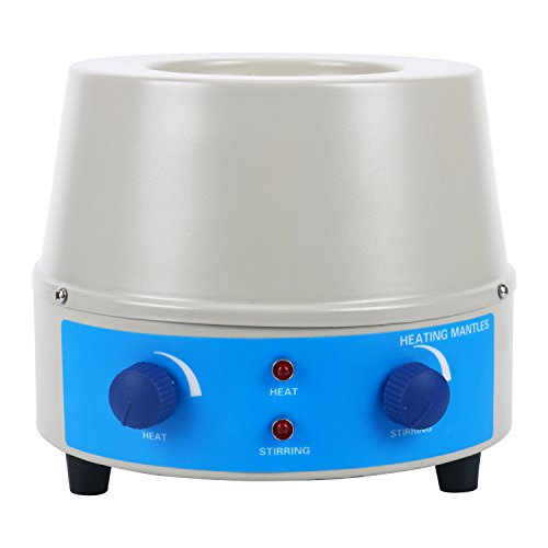 Heating Supply - Magnetic Stirrer Heating Mantle 250ml, 0~1400rpm, 150W, Max 450℃(842℉), One Year Warranty