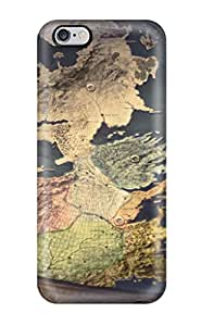 Iphone 6plus BBy19843ITtC Customized Attractive Game Of Thrones Map Skin Perfect Hard Phone Case -AlissaDubois