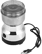 Elektrische koffiemolen, roestvrijstalen koffiemolen, 100-200 W koffiemolen, multifunctionele molen, voor koffiebonen, kruiden, noten, korrels, specerijen