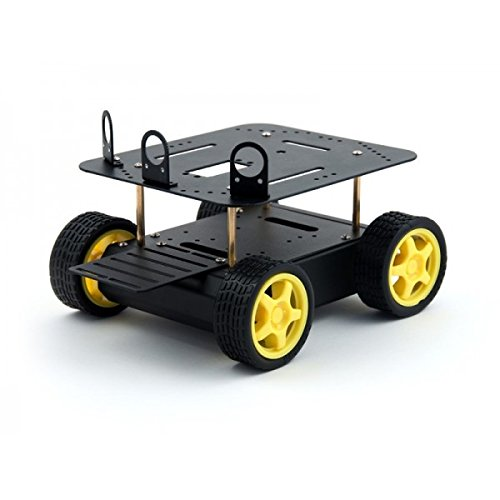 Chassis Robot 4 x 4 con motore