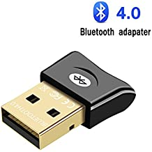Bluetooth Adapter for PC USB Dongle CSR 4.0 ZTESY Bluetooth Receiver Wireless Transfer for Stereo Headphones Laptop Windows XP/7/8/10/Vista Compatible