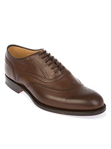 Church's Homme GUNTHORPECALFBROWN Marron Cuir Chaussures À Lacets o2AerT