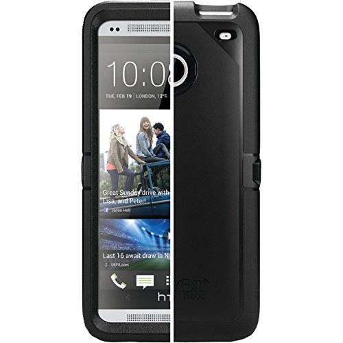 OtterBox Defender Case for HTC One M7 - Bulk Packaging - Black (Case Only)