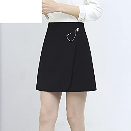 XiaoGao Minifalda Negra,M: Amazon.es: Deportes y aire libre