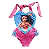 PCLOUD Girls Moana Swimwear One-Piece Swimsuit Beachwear