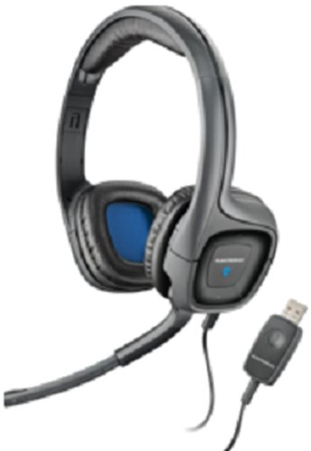 Plantronics Audio 655 USB Multimedia Headset with Noise Canceling Microphone - Compatible with PC and Mac