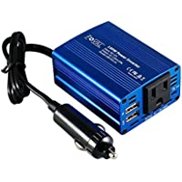 Foval 150W Power Inverter DC 12V to 110V AC Converter...