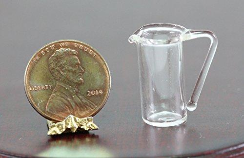 Royal Miniatures Dollhouse Miniature Tall Glass Pitcher ()