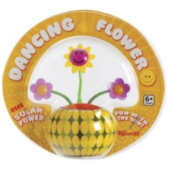 Yellow Solar Dancing Flower Adhesive
