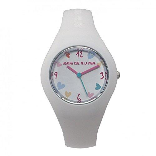 Reloj Agatha Ruiz de la Prada AGR227 - Reloj chica POLO Blanco: Amazon.es: Relojes