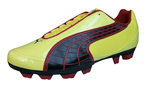 PUMA V5.10 i FG Mens Soccer Boots/Cleats-Yellow-9
