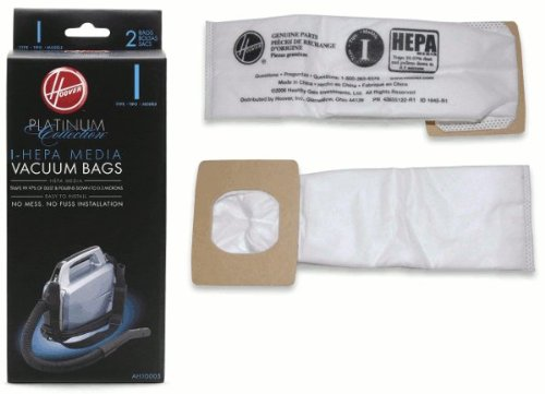 Hoover Bag Paper I Platinum 2 Pack SH10000