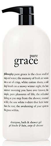 (Philosophy Pure Grace Shampoo, Bath and Shower Gel (32 fl. oz.) )