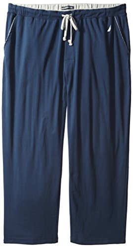 Nautica Men's Big-Tall Knit Lounge Pant, Navy, 3X
