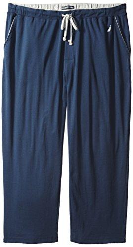 - Nautica Men's Big-Tall Knit Lounge Pant, Navy, 1XLT
