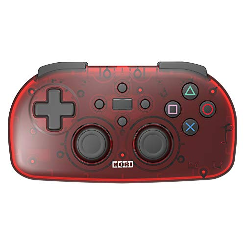【Sony License Item】 Wireless Controller Light for Playstation (R) 4 Clear Red 【PS4 Compatible】 Japan Import