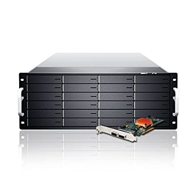 Sans Digital 24-Bay 6G RAID Storage Rack Mount (KT-ES424X6+BHG) by Sans Digital