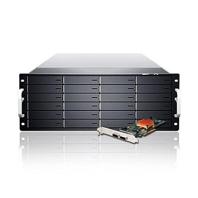 Sans Digital 24-Bay 6G RAID Storage Rack Mount (KT-ES424X6+BSHG) by Sans Digital