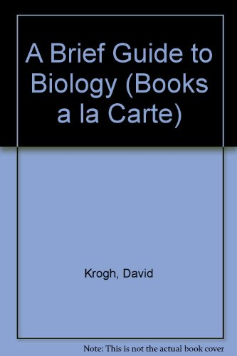 Books a la Carte Plus for A Brief Guide to Biology