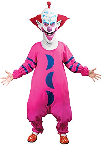 Killer Clown Costumes For Men (Trick or Treat Studios Men's Killer Klowns From Outer Space-Slim Costume, Multi, One Size)