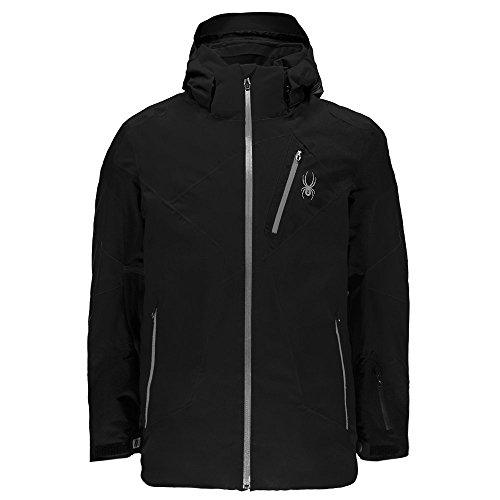 - Spyder Men's Leader Jacket Black/Black/Black Medium