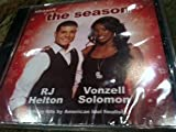RJ Helton & Vonzell Solomon / The Season / Holiday Hits by American Idol Finalists / CD