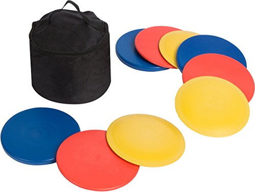 Trademark Innovations Disc Golf Set (9 Discs) with Disc Golf Bag by Trademark Innovations