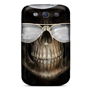 Saraumes Galaxy S3 Well-designed Hard Case Cover Grim Reaper Protector