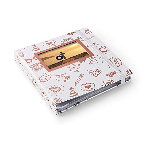 HP Sprocket Gold and White Photo Album (2HS31A)