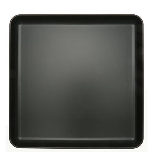 Kotobuki 270-956 Square Non-Slip Serving Tray, 13'', Black by Kotobuki