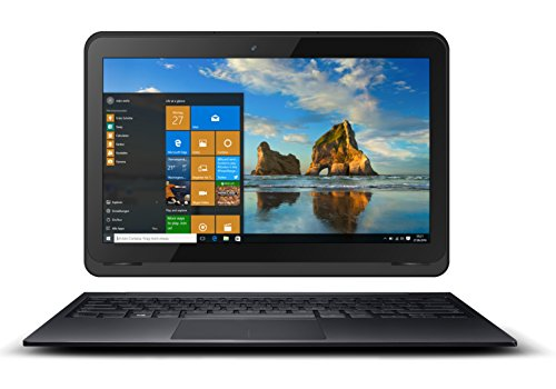 Odys Prime Win 12 2in1 29,5 cm (11,6 Zoll) Tablet-PC (Intel Atom Quadcore x5-Z8350, 2GB RAM, 32GB Flash HDD, Win 10) schwarz