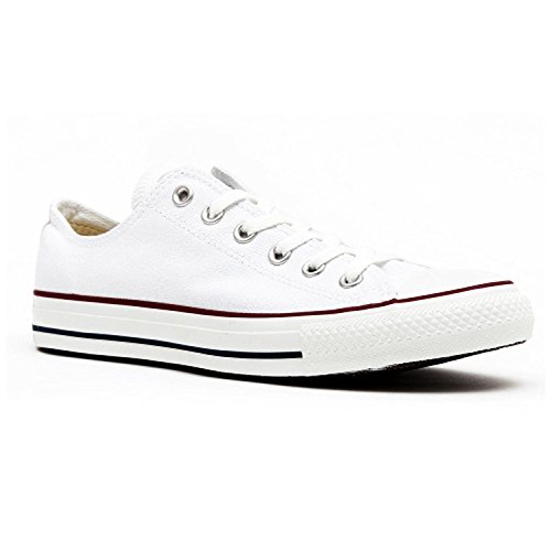 Converse Unisex Chuck Taylor All Star Low Top White Sneakers...