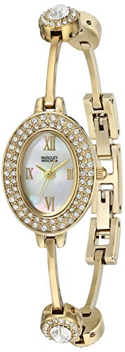 badgley-mischka-womens-ba-1360mpgb-swarovski-crystal-accented-gold-tone-bangle-watch