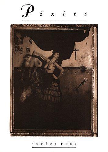 "Pixies (Surfer Rosa Sepia) Music Poster Print - 24"" X 36"""