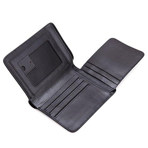 Rfid Eccellente Uomini Di Donna Credito 12x10cm Porta Blocco Protettore Portafoglio Denaro Per 5x4inch Viaggio Carte Genuino a rwTC1Hqrx