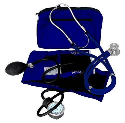 - Dixie EMS Blood Pressure and Sprague Stethoscope Kit - Royal Blue