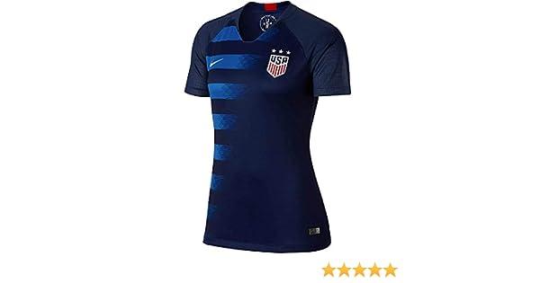 55a7ddd6f5e Amazon.com  Nike Women s Soccer U.S. Away Jersey  Shoes