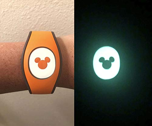 Glow in the Dark Puck Decal for the Disney Magic Band 2 | MagicBand 2.0 Decal]()