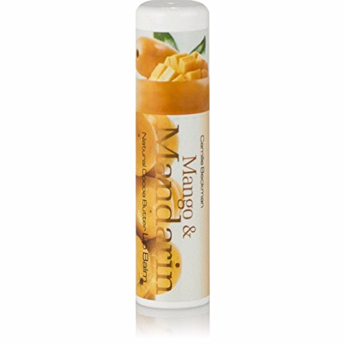Camille Beckman All Natural Cocoa Butter Lip Balm, Mango & Mandarin, .25 oz ()